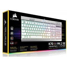 Corsair K70 MK.2 BLK MX Speed RGB Backlit RGB LED, Mechanical Keyboard