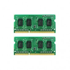 Synology 16GB (2x8GB) DDR3L 1600MHz Unbuffered SODIMM 204-pin 1.35V/1.5V RAM Module for DS1517+ / DS1817+ / RS818+ / RS818RP+