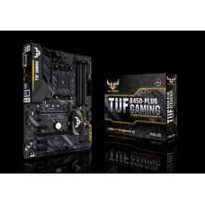 Asus TUF B450-PLUS GAMING AM4 ATX MB, 4xDDR4, 5xPCIe, 4xSATA, 1xM.2, RAID, 4xUSB3, 1xUSB TypeC, 1xHDMI, 1xDVI