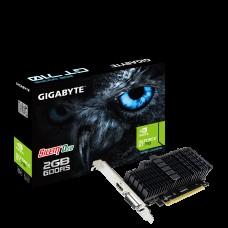 Gigabyte nVidia Geforce GT 710 2GB PCIe Video Card DDR5 4K 2xDisplays HDMI DVI Low Profile Heatsink 954MHz