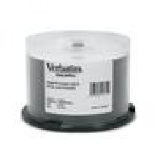 Verbatim CD-R 700MB 50Pk White Wide Inkjet 52x
