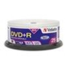 Verbatim DVD+R4.7GB 16x 25 Pk Spindle (LS)