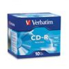 Verbatim CD-R 700MB 10Pk Jewel Case 52x