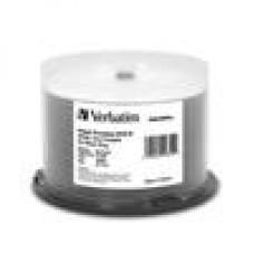 Verbatim DVD-R8X 4.7GB 50PK Inkjet printable Wide Azo Blue (LS)